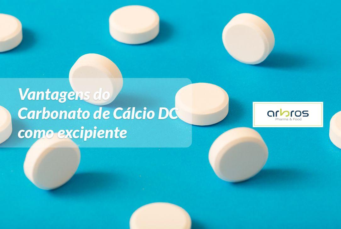 Carbonato de Cálcio como Excipiente